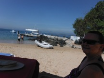Lunch on Isla Ixtapa